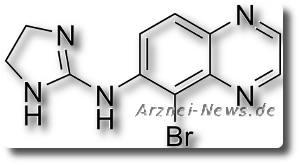 Brimonidin - Chemische Strukturformel