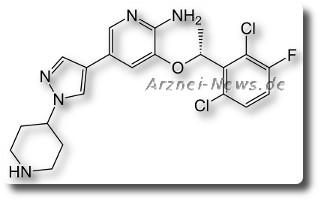 Crizotinib: Zulassung Lungenkrebs (NSCLC) durch FDA