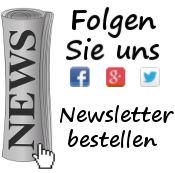 Newsletter / Folgen auf Twitter, Facebook und Google Plus
